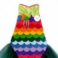 DIY Mermaid Costume With No Sew Option