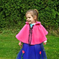 Easy Princess Anna Cape