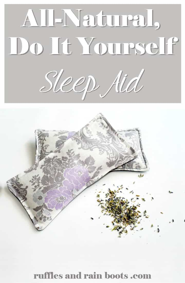 All Natural DIY Sleep Aid