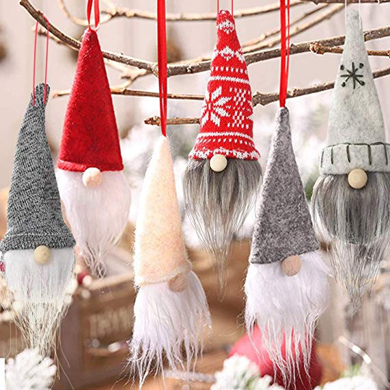Scandinavian Gnome Ornaments for Christmas