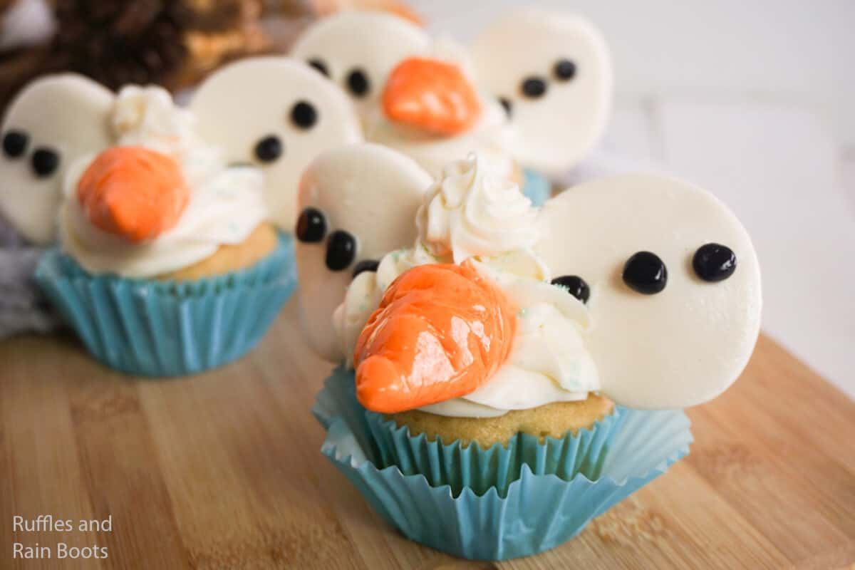 how to make mickey ear cupcakes for frozen