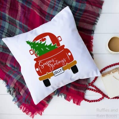 Cute Christmas Back of Truck SVG Collection for Holiday Crafts!