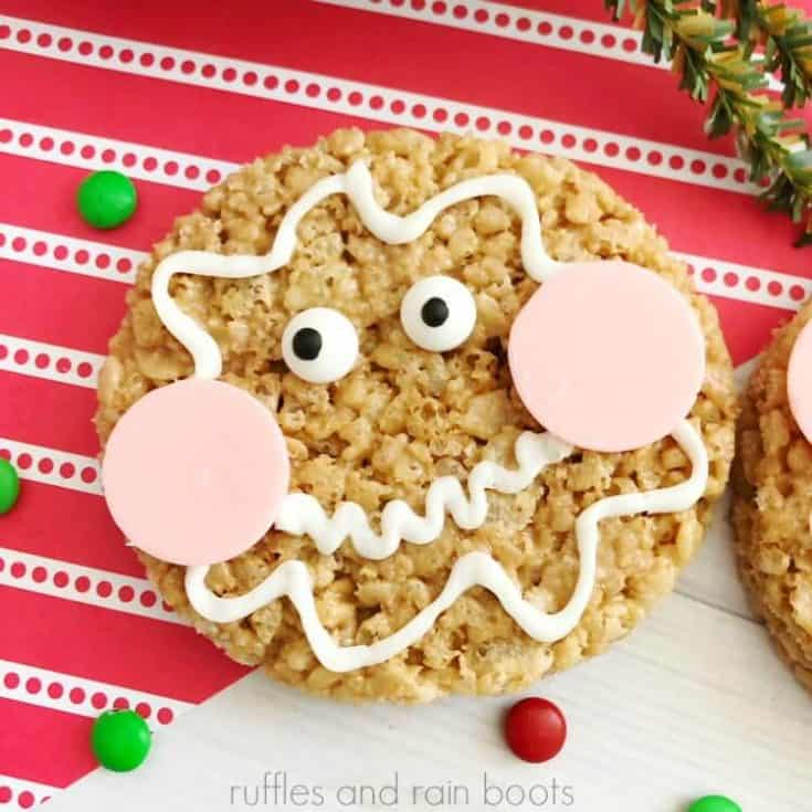 Gingerbread Rice Krispies Treats