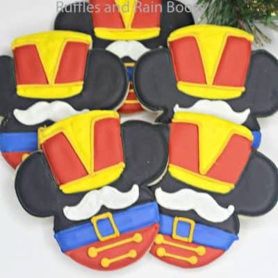 Easy Mickey Nutcracker Christmas Cookies Recipe