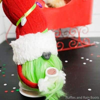 How to Make a Sock Gnome – Grinch Sock Gnome