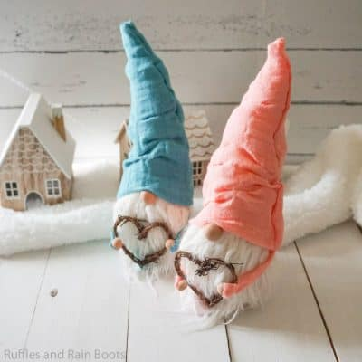Easy No-Sew Gnome Pattern You Can Use for Every Gnome