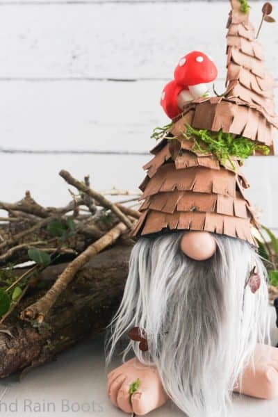 how to make a rustic gnome
