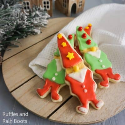Make These Gnome Cookies and Win at Christmas Cookie Exchange!