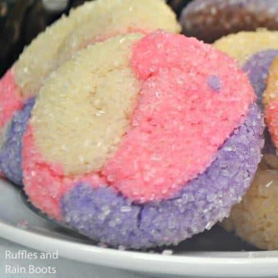 Make Easy Sugar Plum Christmas Cookies for Santa!