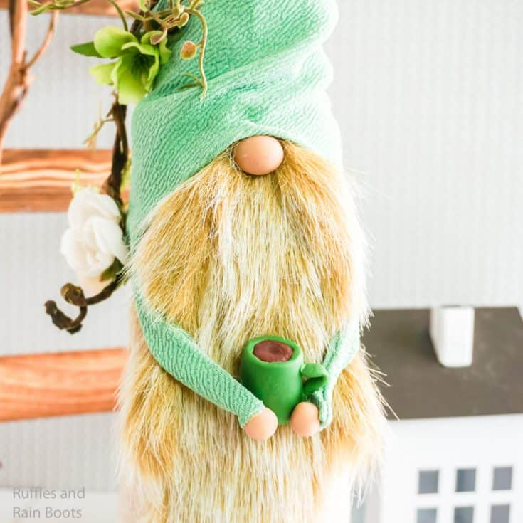 Make This Spring Gnome with Rain Boots in Minutes!