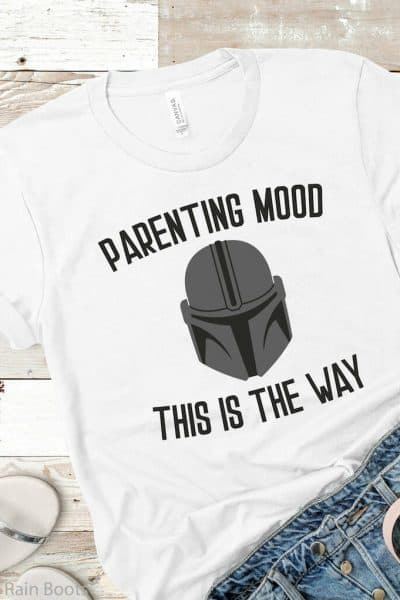 funny star wars cut file for cricut parenting mood this is the way