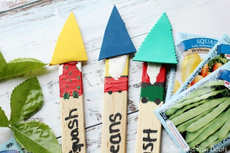 Garden Gnome Plant Markers