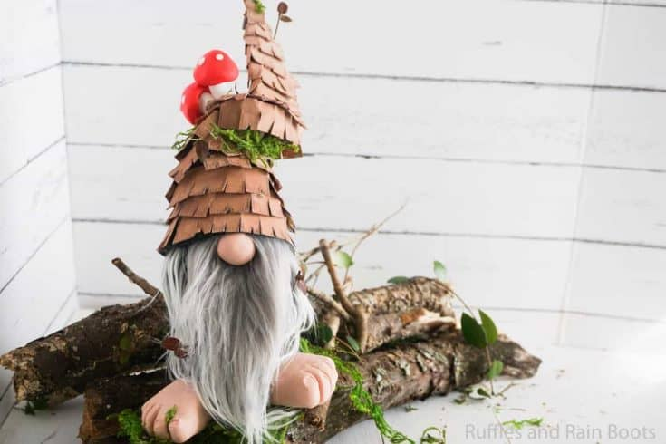 Rustic Forest Gnome