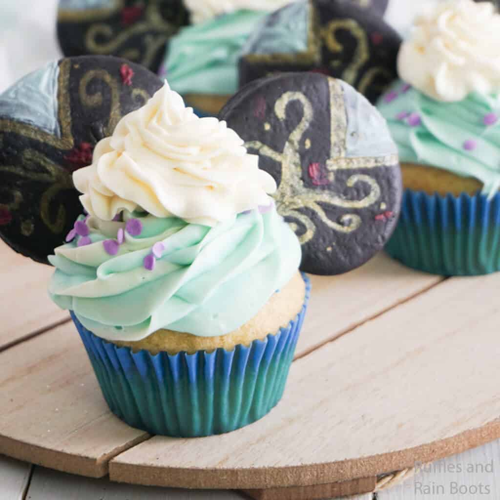 how to make disney princess cupcakes for frozen