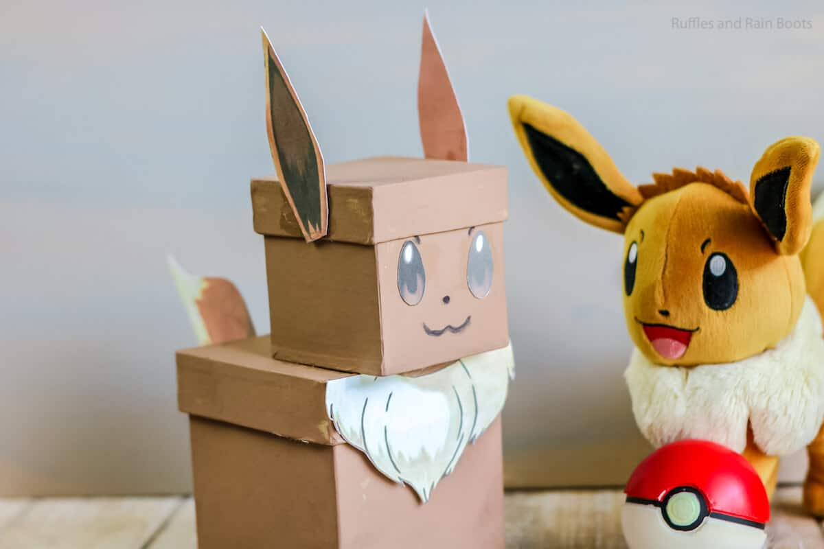 pokemon valentine box diy craft