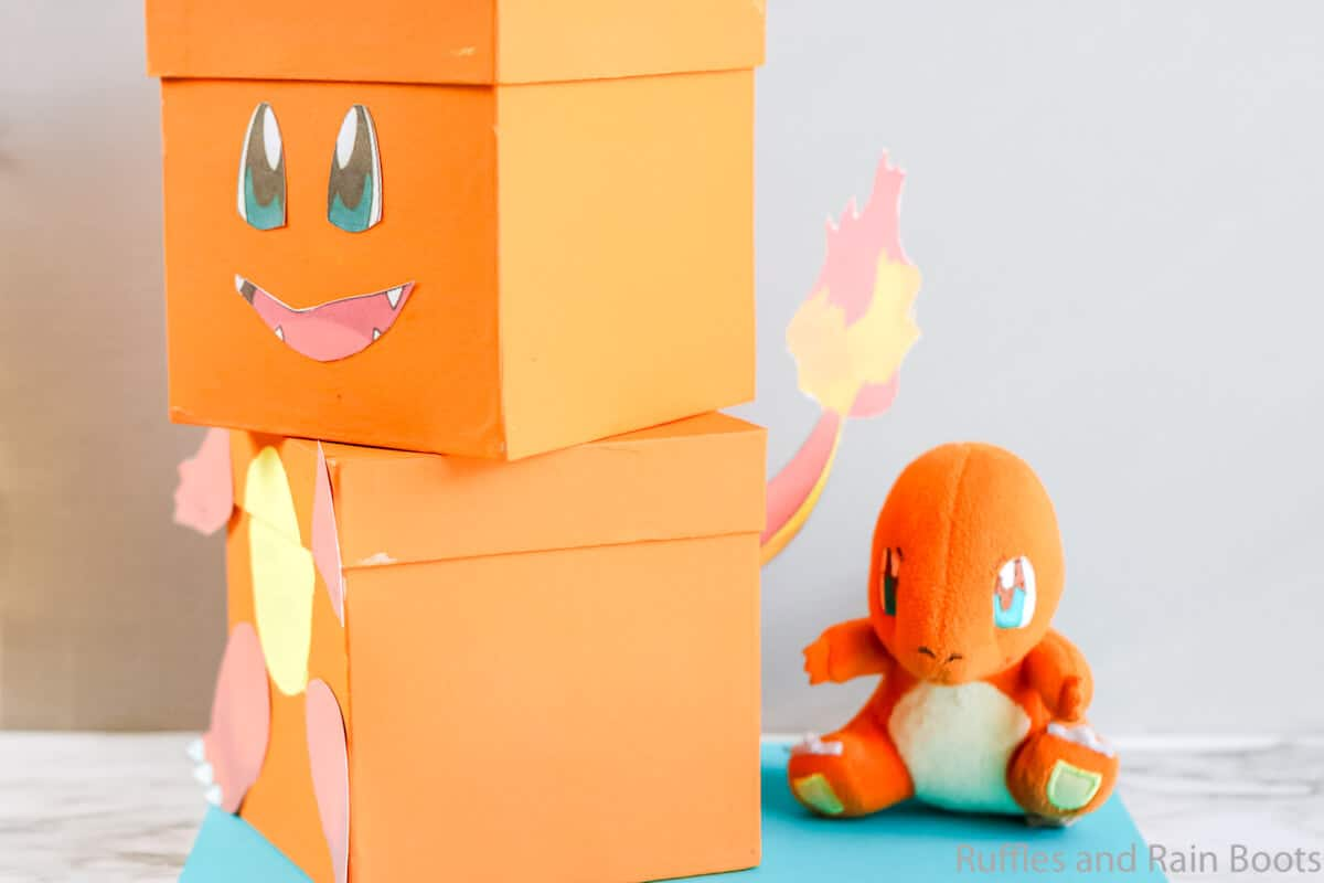 valentines box diy charmander