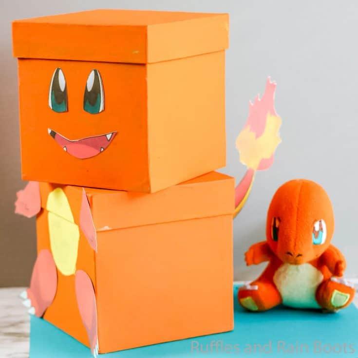 Pokemon Charmander Valentine Box