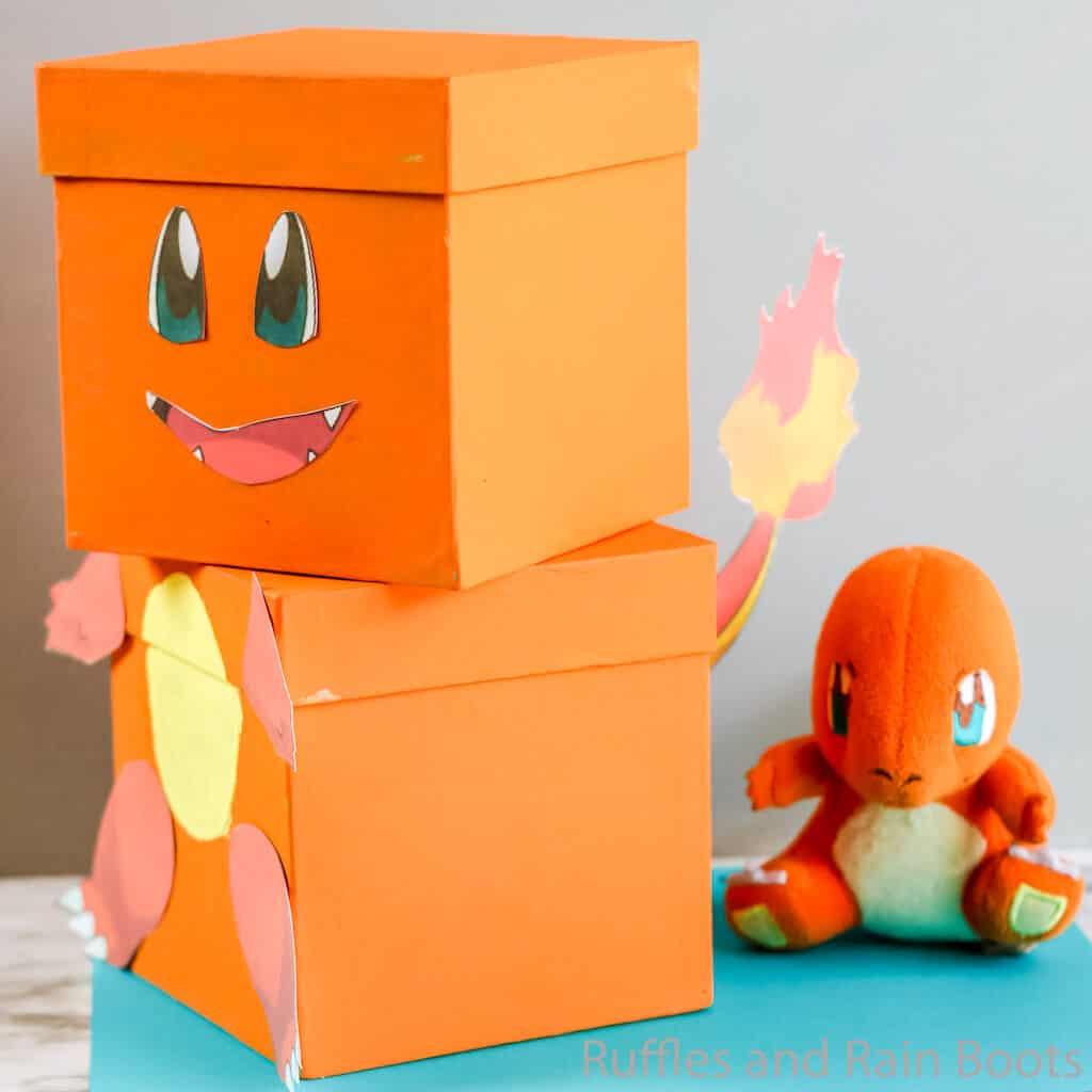 valentines box diy pokemon charmander