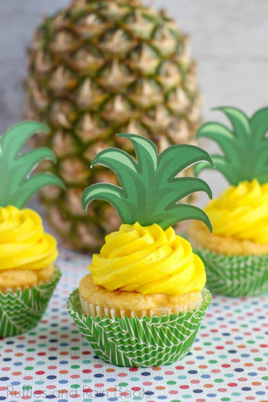 pineapple flavored cupcake recipe